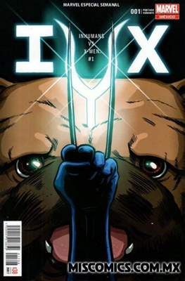 Inhumans vs. X-Men (Portada variante) (Grapa) #1.1