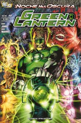 Green Lantern (2009-2012) (Grapa 72 pp) #12