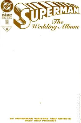 Superman: The Wedding Album (Variant Cover) (Softcover) #1.2