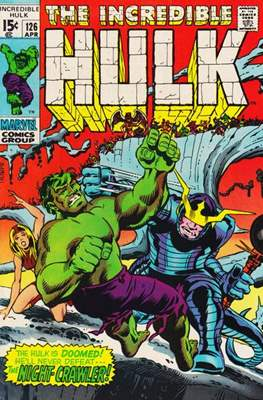 The Incredible Hulk Vol.1 (Saddle-stitched. 1962-1999) #126