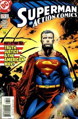 Action Comics Vol. 1 (1938-2011; 2016-) (Comic Book) #775