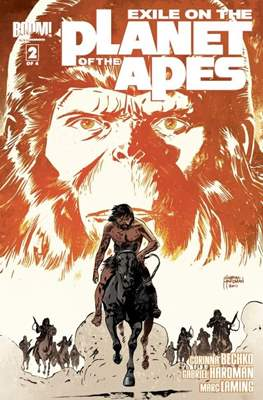 Exile on the Planet of the Apes (Grapa) #2