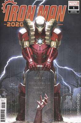 Iron Man 2020 (2020- Variant Cover) #1.3