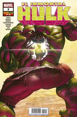 El Increíble Hulk Vol. 2 / Indestructible Hulk / El Alucinante Hulk / El Inmortal Hulk (2012-) (Comic Book) #78/3