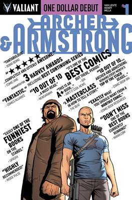 One Dollar Debut: Archer & Armstrong # 1