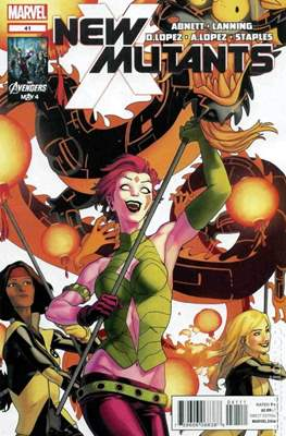 New Mutants Vol. 3 (Comic Book) #41