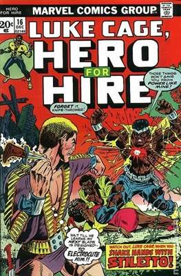 Hero for Hire / Power Man Vol 1 / Power Man and Iron Fist Vol 1 (Comic Book) #16