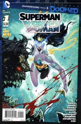 Superman / Wonder Woman Annual (2014-2016) (Comic Book) #1