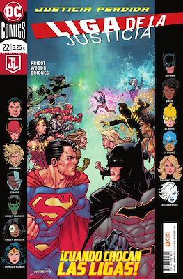 Liga de la Justicia. Nuevo Universo DC / Renacimiento (Grapa) #77/22
