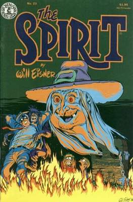 The Spirit (1983-1992) (Comic book. 32 pp) #23