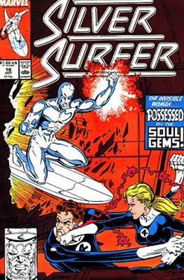 Silver Surfer Vol. 3 (1987-1998) #16