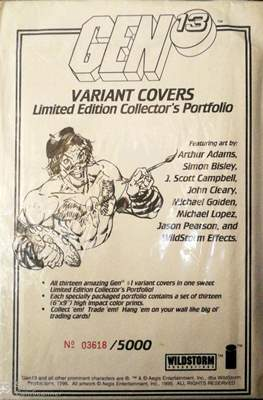 Gen 13: Variant Covers Limited Edition Collector's Portfolio
