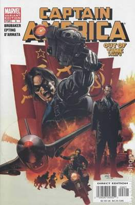Captain America Vol. 5 (2005-2011 Variant Cover)