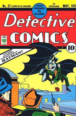 Detective Comics #27. 60 aniversario