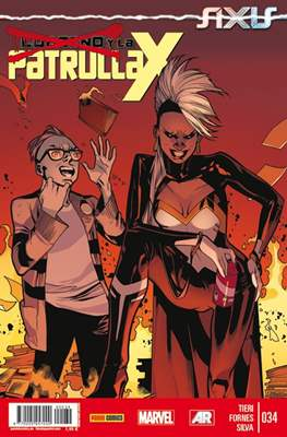 Lobezno y la Patrulla-X / Spiderman y La Patrulla-X (2012-2015) (Grapa.) #34