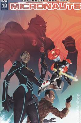 Micronauts (2016-2017 Variant Cover) (Comic Book) #10