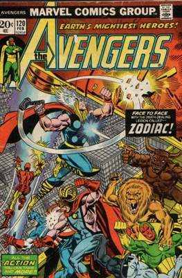 The Avengers Vol. 1 (1963-1996) (Comic Book) #120