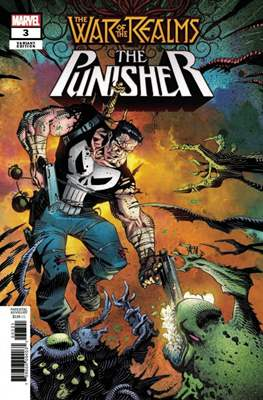 The War of the Realms: The Punisher (Variant Covers) (Comic Book) #3