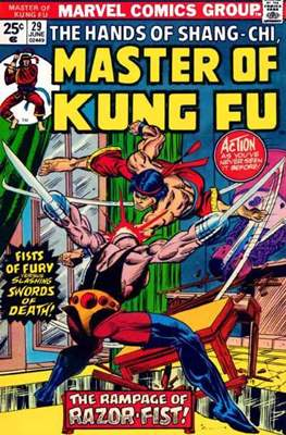 Master of Kung Fu (Comic Book. 1974 - 1983. Continued from Special Marvel Edition #16) #29