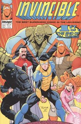 Invincible (Variant Covers) (Comic-book) #133