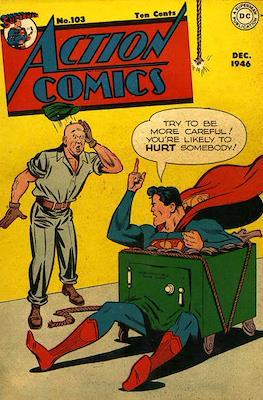 Action Comics Vol. 1 (1938-2011; 2016-) (Comic Book) #103