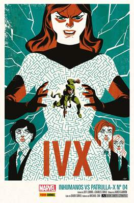 Inhumanos Vs. Patrulla-X (Portadas alternativas) (Grapa) #4