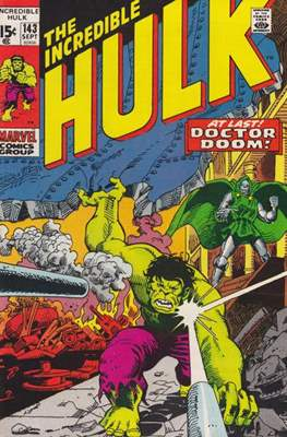 The Incredible Hulk Vol.1 (Saddle-stitched. 1962-1999) #143