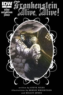 Frankenstein Alive, Alive! (Comic-book) #4