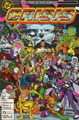 Crisis en Tierras Infinitas (1987) (Grapa. 32 páginas. Color.) #9
