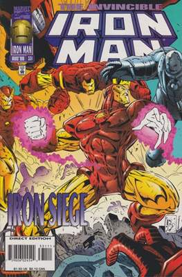 Iron Man Vol. 1 (1968-1996) (Comic book) #331