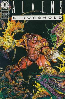 Aliens Stronghold (grapa) #1