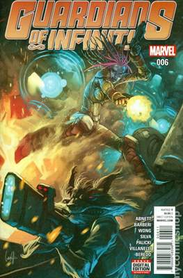 Guardians of Infinity (Comic Book) #6