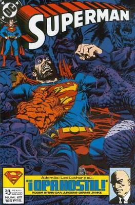 Superman Vol. 2 (1987-1993). El hombre de acero / Superman (Grapa 36 pp) #67