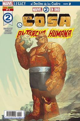 Marvel 2 en Uno: La Cosa y La Antorcha Humana (2018-Portadas Alternativas)