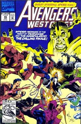 West Coast Avengers Vol. 2 (Comic-book. 1985 -1989) #86