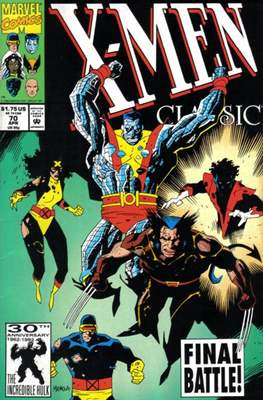 Classic X-Men / X-Men Classic (Comic Book) #70