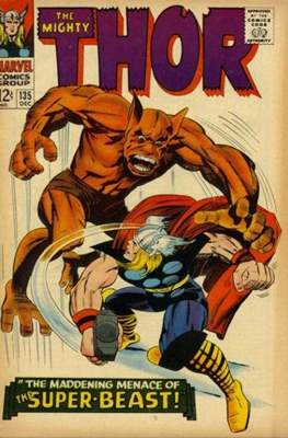Journey into Mystery / Thor Vol 1 (Comic Book) #135