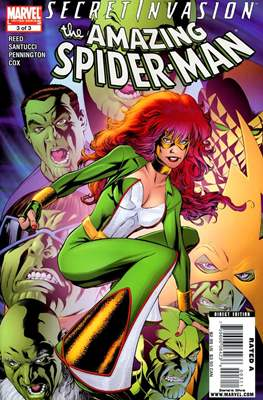 Secret Invasion: The Amazing Spider-Man (Comic-Book) #3