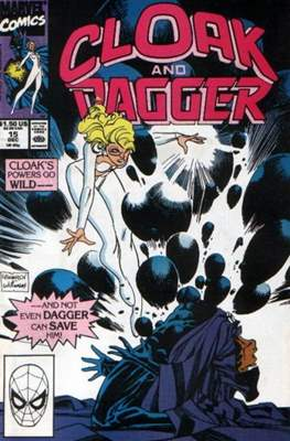 Cloak and Dagger Vol. 3 (1988-1991) (Comic-book.) #15