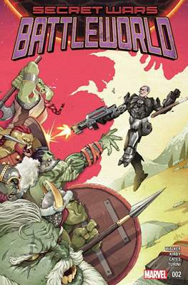 Secret Wars: Battleworld (Comic-book) #2