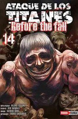 Ataque de los Titanes: Before the Fall (Rústica) #14