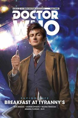 Doctor Who: The Tenth Doctor Facing Fate