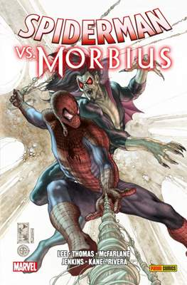 Spiderman Vs. Morbius. 100% Marvel HC