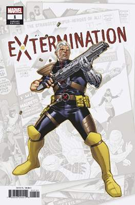 Extermination (Variant Cover) (Comic Book) #1