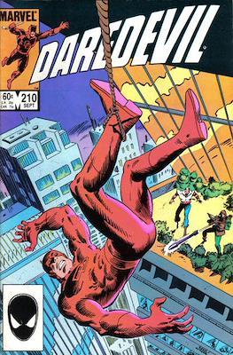 Daredevil Vol. 1 (1964-1998) (Comic Book) #210