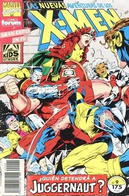 Las nuevas aventuras de los X-Men (Grapa 24 pp) #9