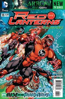 Red Lanterns (2011 - 2015) New 52 #13