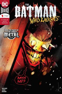 The Batman Who Laughs (2018-) (Comic Book) #1