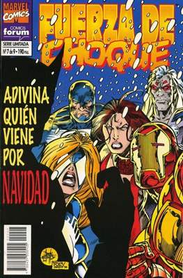 Fuerza de Choque vol. 1 (1995) (Grapa. 17x26. 24 páginas. Color. 1995.) #7