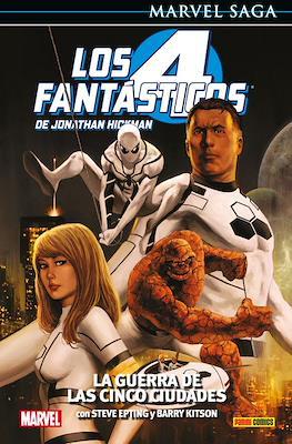 Marvel Saga: Los 4 Fantásticos de Jonathan Hickman #4